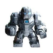 Legoings Single Sale Figures Super Heroes Iron Monger Whiplash Avengers Thanos Iron Man Hulk Buster Action Figure For Kids Gifts цена 2017