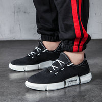 2019 New Men's Casual Shoes High Quality Fashion Comfortable Men Sneakers Wear resisting Non slip Male Footwears E31 50