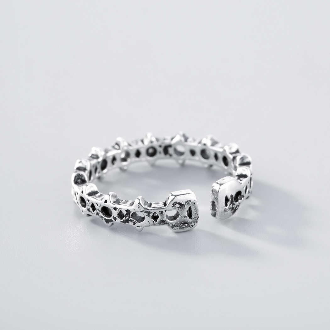 Cxwind панк пентаграмма штабелируемое кольцо ретро звезды Регулируемые кольца для пальцев для женщин ювелирные украшения для свадьбы anillo mujer подарок