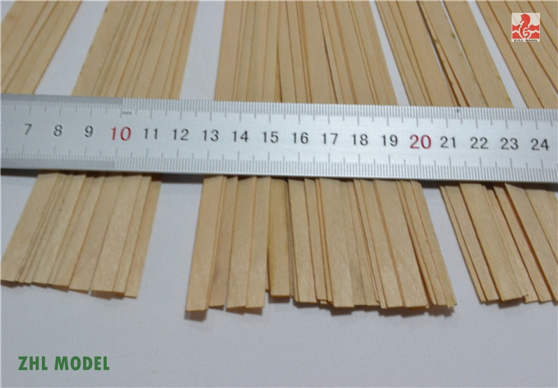 ZHL Beech wood strips 50 pieces model shipZHL Beech wood strips 50 pieces model ship
