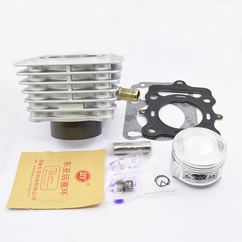 High Quaity Motorcycle Cylinder Kit 63.5mm Bore For LIFAN CG200 CG 200 200cc UITRALCOLD Engine Spare Parts high quaity motorcycle cylinder kit 70mm bore for lifan cg250 cg 250 250cc uitralcold engine spare parts