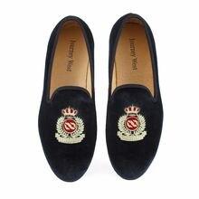 Новинка; модные мужские бархатные лоферы; черные свадебные туфли;