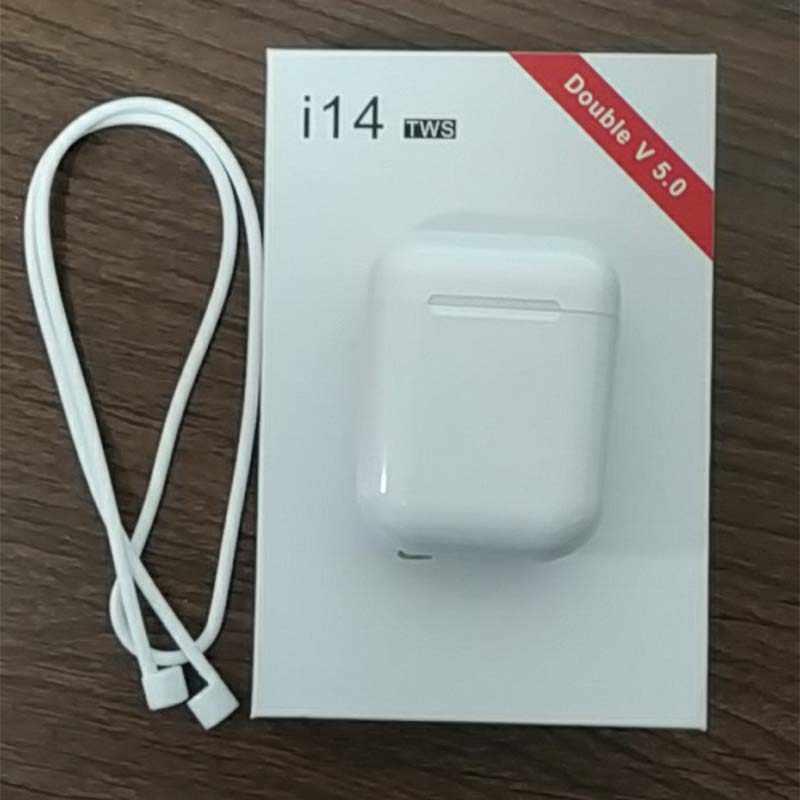 I14 tws najlepsza jakość 1:1 mini bezprzewodowa Bluetooth