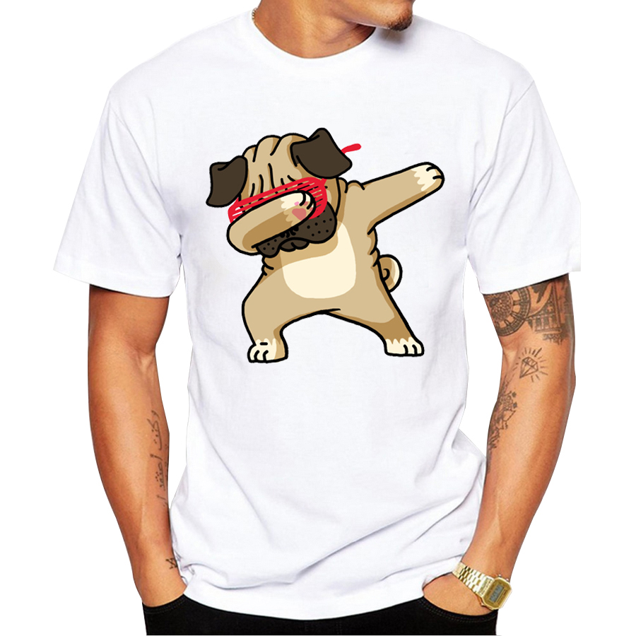 dabbing pug t shirt
