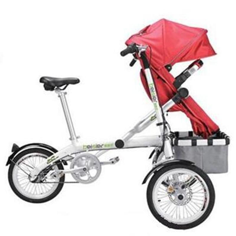 Για το Ta Ga Baby Mother Bike καροτσάκι - Παιδική δραστηριότητα και εξοπλισμός - Φωτογραφία 3