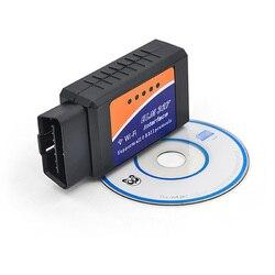 Super Mini ELM327 V1.5 Bluetooth/Wifi OBD2 kod obdii czytnik wysokiej jakości ELM 327 Bluetooth ELM327 WI-FI Android/IOS