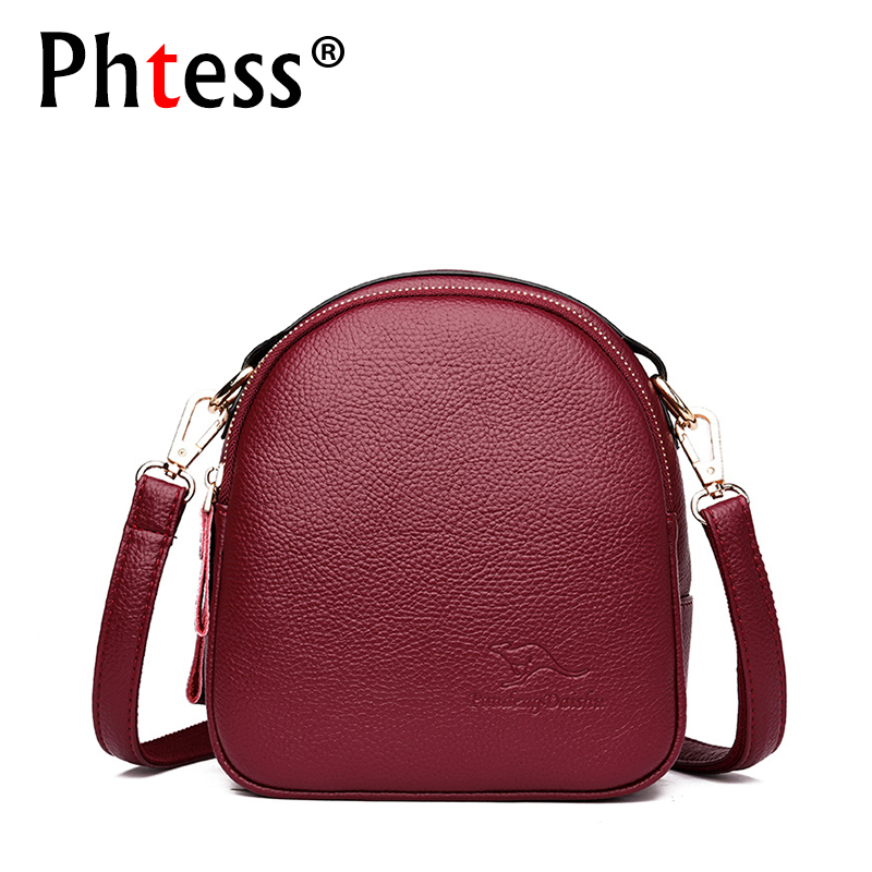 2018 Women Messenger Bags Small Leather Shoulder Bag Female