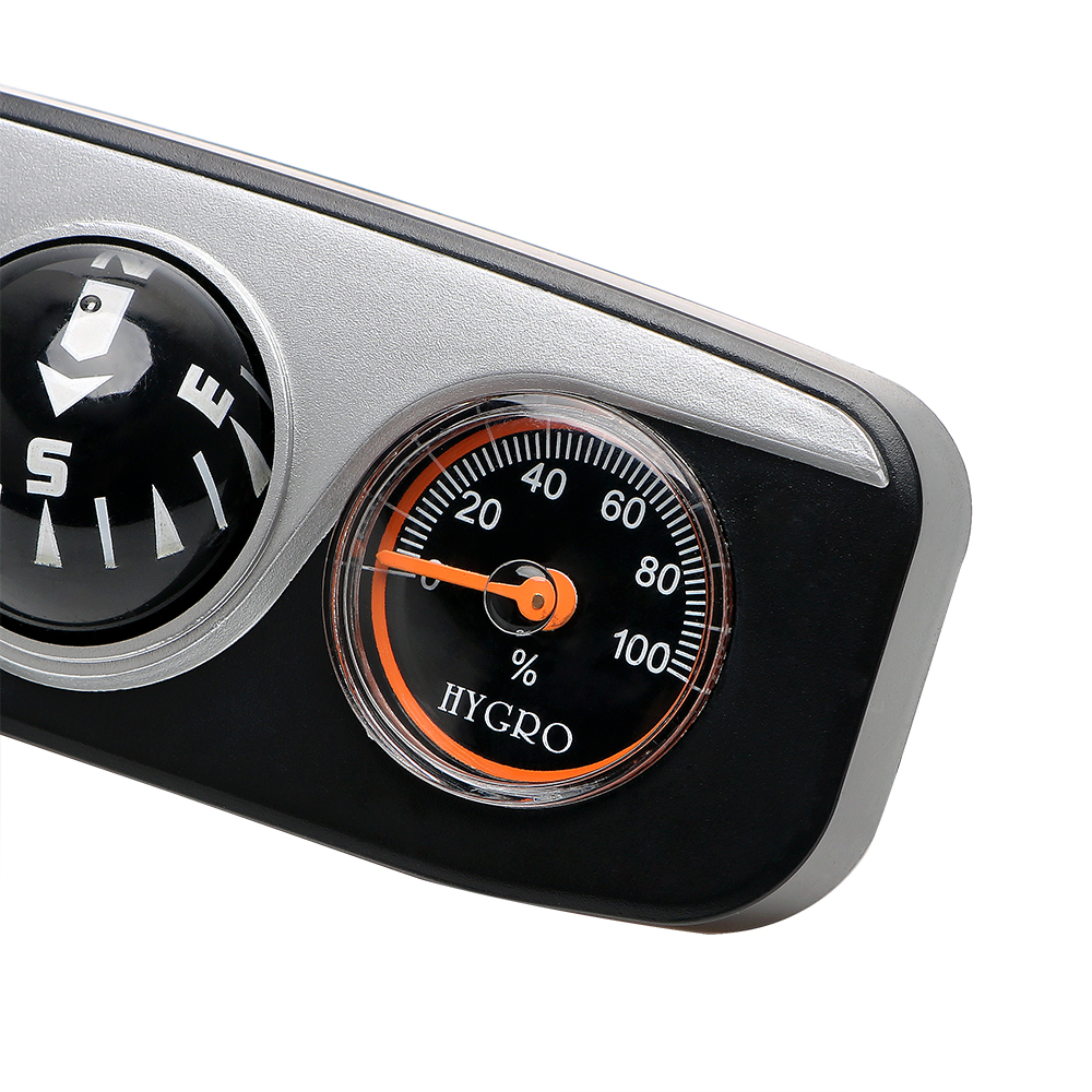 ff0b721e1 Adornos para el coche termómetro de brújula higrómetro para ...