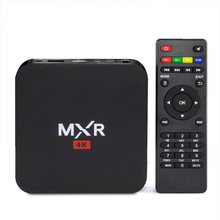 New Mini MXR RK3229 Quad Core Hard Disk Player 1G/8G WiFi HDMI2.0 4K H.265 10Bit KODI Smart TV Box XBMC TV Google Play Store