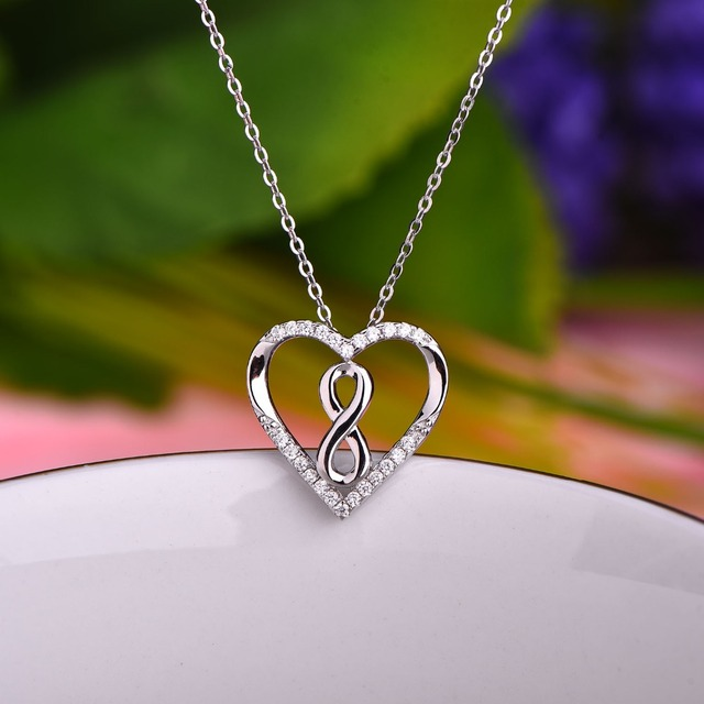 Jo wisdom new arrival big heart endless infinity pendants necklaces jo wisdom new arrival big heart endless infinity pendants necklaces for lover silver 925 fine jewelry aloadofball Gallery