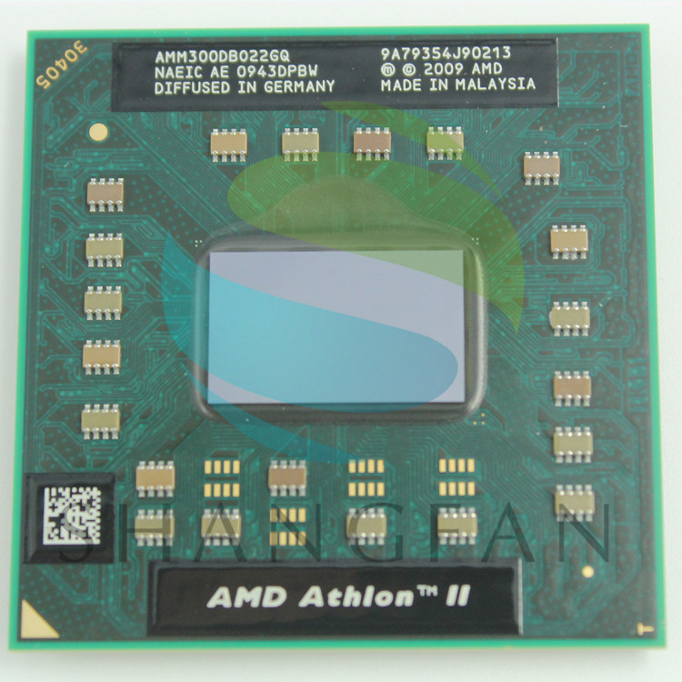 AMD Athlon II Dual-Core Mobile M300  AMM300DBO22GQ Notebook CPU Laptop Processor Cpu M340 M360 P320 P340 N350 N370