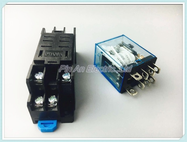 Aliexpresscom Buy 1 set 12V 10A Coil Power Relay DPDT LY2NJ HH62P