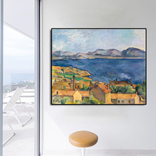 Village Scenery Famous Oil Painting Wall Art Poster Print Canvas Calligraphy Decor Picture for Living Room Home