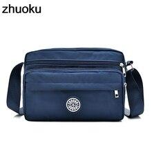 ZHUOKU Female Shoulder Bags Solid Bags Handbags Women Famous Brand Small Bolsas Feminina Crossbody Bag For