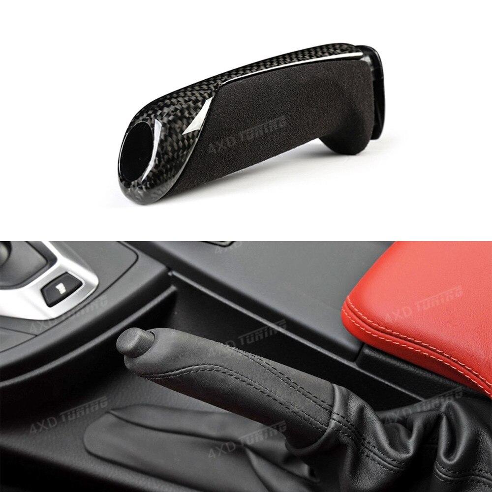 Для BMW F20 F30 F32 F34 F36 углеродного волокна ручной тормоз Запчасти накладка 1 2 3 4 М серии автомобиль ручной тормоз накладка замена Стиль