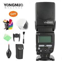 YONGNUO YN685 Flash Speedlite 2.4G Wireless HSS 1/8000s Radio Slave Mode for Canon support YN662C YN560-TX RF605 RF603 II