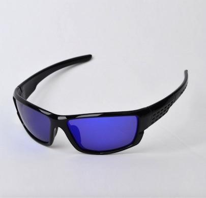 bright black blue