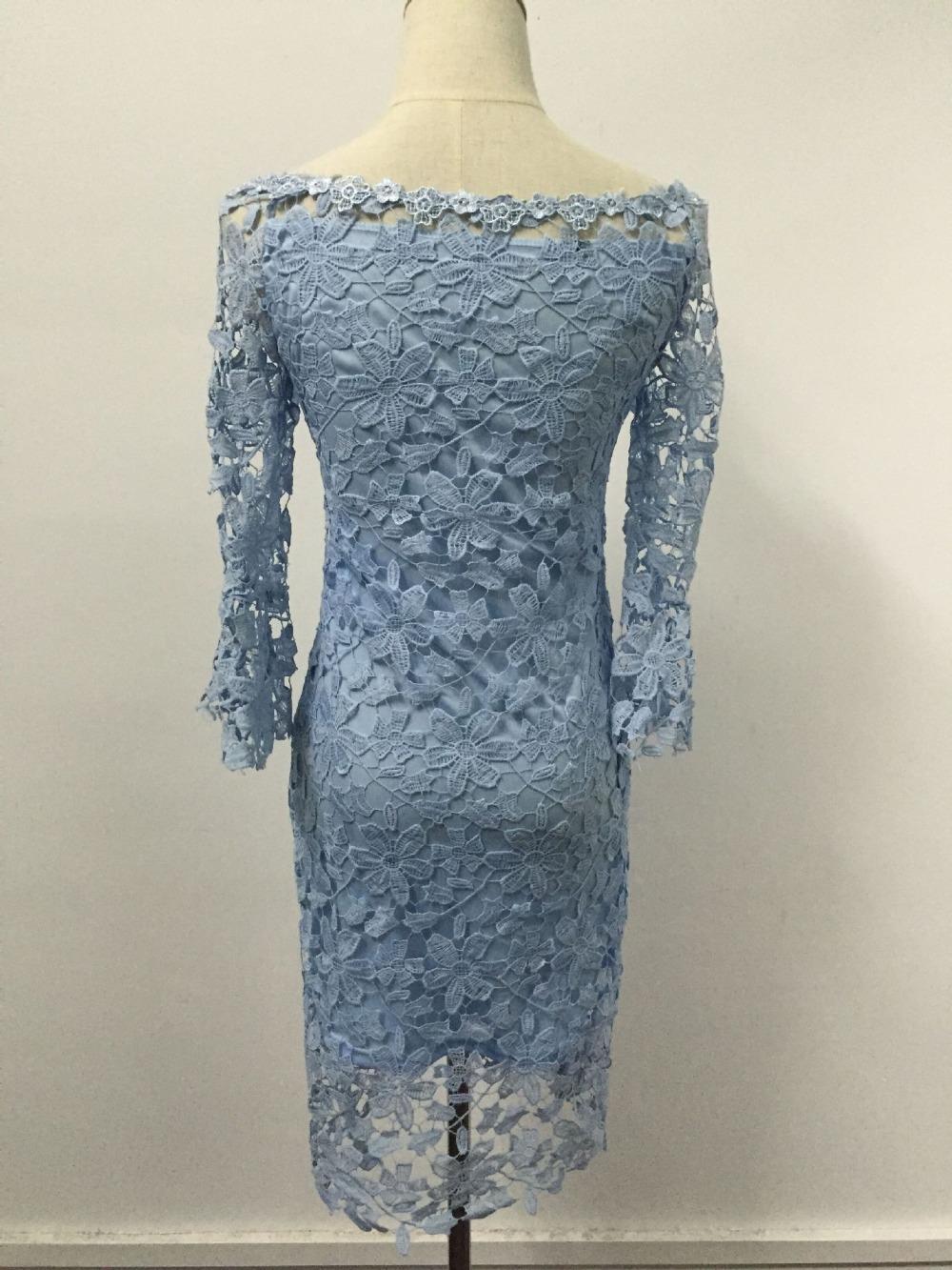 2018 New Arrivals sexy lace slash neck dress vestidos femininos Women 39 s Clothing Women dress in Dresses from Women 39 s Clothing