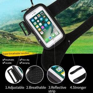 Image 3 - Sport Fiets Pols Zak Armbanden Case Voor Iphone Se 2 11 Pro Max Xs Xr X 7 8 Plus Samsung a51 S20 Huawei Fiets Telefoon Houder Pouch