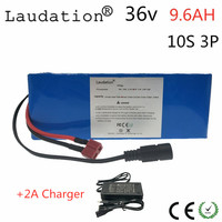 lithium 36 V 9.6ah 10S 3P 18650 Rechargeable battery, changing bicycles, Electric car 18650 36 V 9600mah protection with PCB