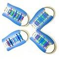 12 Шт./лот Ленивый Шнурки Световой Шнурки Силиконовые Шнурки Мода Красочные Эластичные Силиконовые Шнурки # B2014