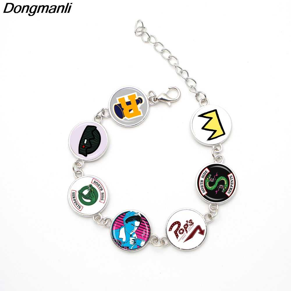 P2489 Dongmanli Fashion jewelry Glass Dome Riverdale Handmade Bracelets