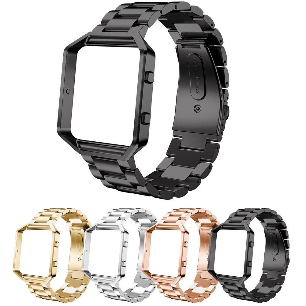 Replacement Stainless Steel Wrist watch Band Strap Frame For Fitbit Blaze gear s3 classic bracelet for watches stainless steelReplacement Stainless Steel Wrist watch Band Strap Frame For Fitbit Blaze gear s3 classic bracelet for watches stainless steel