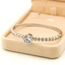 Joyería de moda cinturón de carter amor pulsera manchette brazaletes de puño de acero inoxidable H bangles para las mujeres pulseras mujer joyería