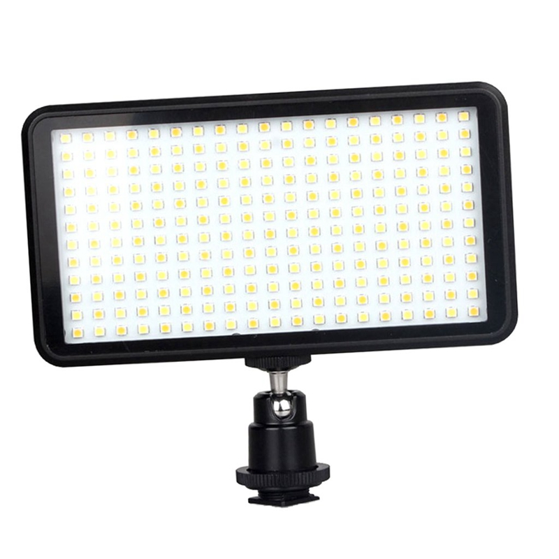 Image 4 - Led 228 Continuous On Camera Led Panel Light, Portable Dimmable Camera Camcorder Led Panel Video Lighting For Dslr Camera   Ca-in Photographic Lighting from Consumer Electronics