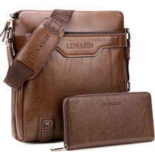 men bag shoulder leather messenger bag