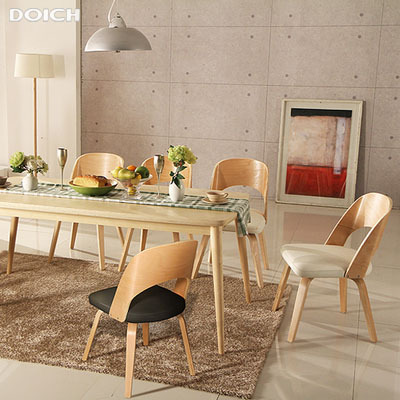 Solid Wood Dining Tables And Chairs Chair Scandinavian Modern Style Furniture A Japanese Restaurant Birch Simple Fashion In From