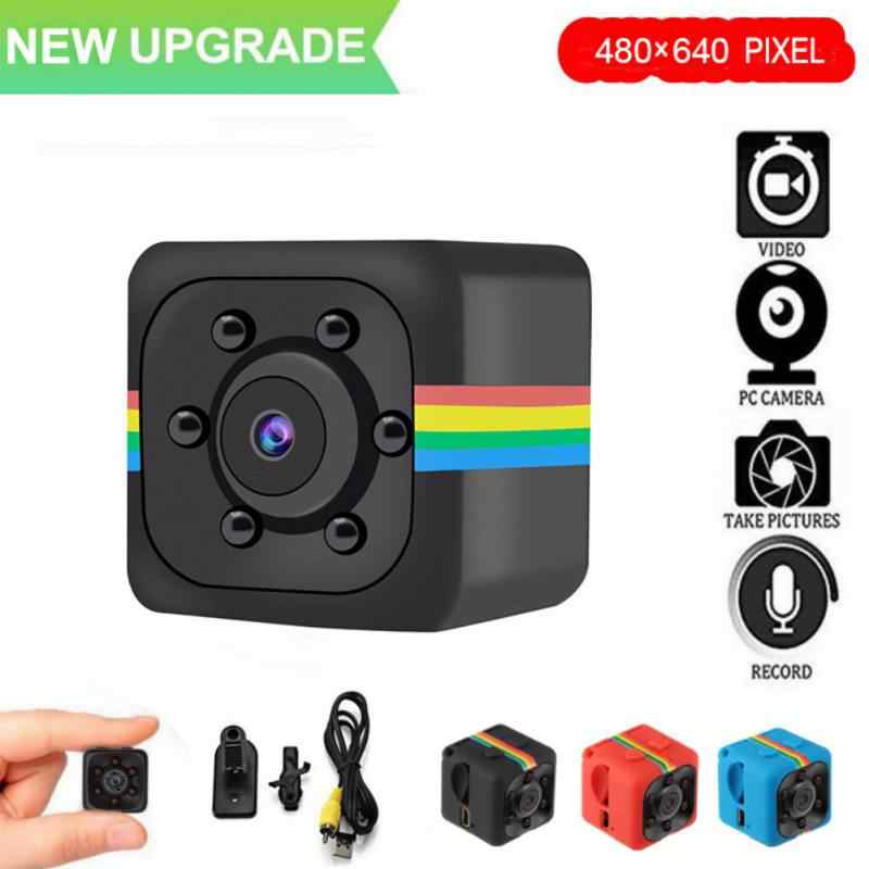 Mini Kamera mit Box SQ11 480*640 DV Mini Camcorder Sport Kamera Auto DVR Nachtsicht Video Voice Recorder micro Action Cam