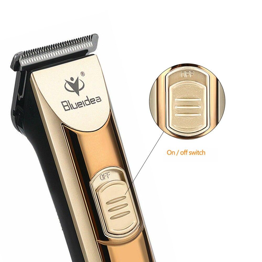 Tondeuses cheveux coupe outils rasoir mode barbier or rasage Portable santé beauté - 3