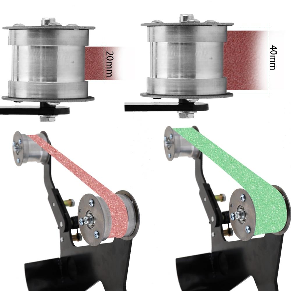 Ленточный шлифовальный станок для шлифовки углов шлифовальный ремень адаптер Аксессуары беспроводной Электроинструмент шлифовальный станок шлифовальный полировальный станок|Точильные камни|   | АлиЭкспресс