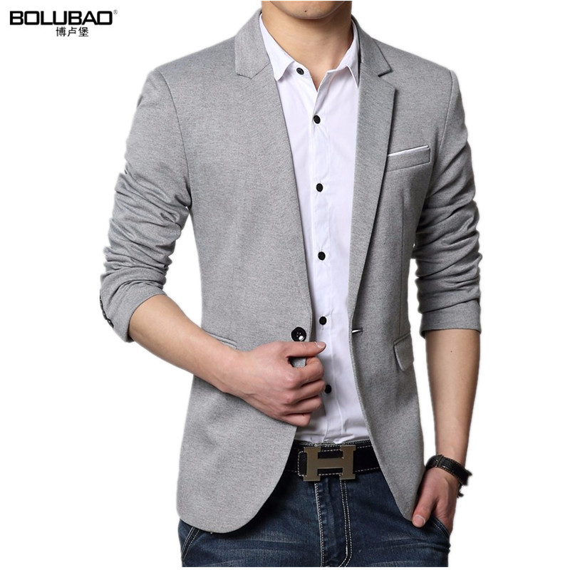 2016 Autumn Style Luxury Business Casual Suit Men Blazers