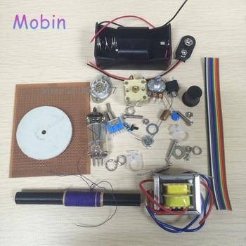1PCS/LOT Tube radio kit single lamp tube radio battery-powered radio