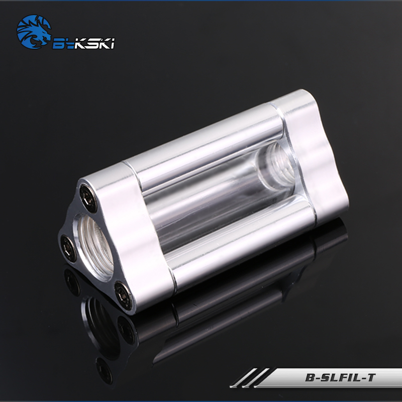 BYKSKI silverversion G1 / 4 Plugg / slangmontering / OD14mm - Datorkablar och kontakter - Foto 2