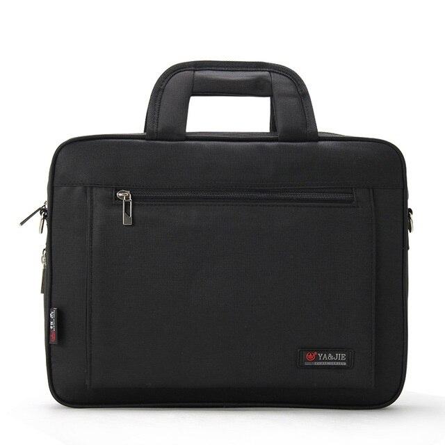Briefcase Male Business Canvas File Man Bag Fashion Laptop Bag Office Slung Oxford File Business Work Canvas Handbag
