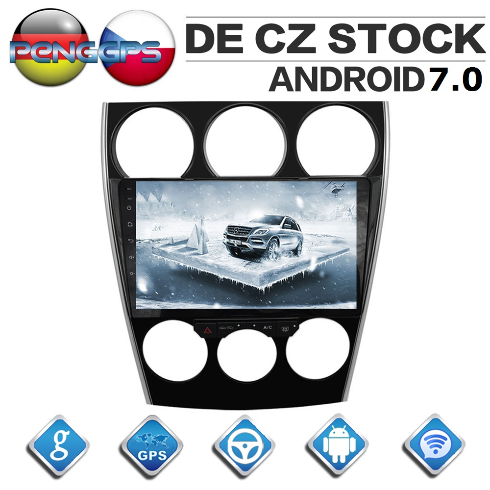 2 Din Android Car Radio for Mazda 6 2002 2008 Quad Core Car GPS Navigation DVD