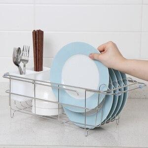 Image 3 - ORZ, расширяемая сушилка для посуды, кухонный держатель для хранения, раковина, слив, миска, посуда, сушилка, полка для дома, кухня, организатор утвари