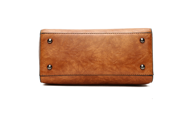 pure leather bag under
