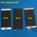 Oro blanco negro nueva pantalla lcd de pantalla táctil digitalizador asamblea completa para xiaomi mi5 m5 mi 5 reemplazo del teléfono móvil