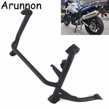 Motorcycle Center Central Parking Stand Firm Holder Support Stainless steel For BMW F800R F800 R F 800R 2010-2017 rack
