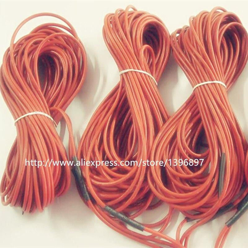 24k12 5m 230w 17ohm Warm The Carbon Fiber Heating Wire