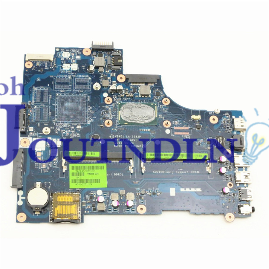 JOUTNDLN FOR DELL INSPIRON 3537 5537 LAPTOP MOTHERBOARD 1DWF0 01DWF0 LA-9982P W/ I3-4010 CPU Do not support multi-graphics card