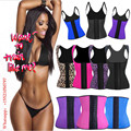 Factory Latex Hot Body Shaper Butt Lifter Slimming Underwear Belt Waist Shaper Corsets Latex Waist Trainer Corset Underbust