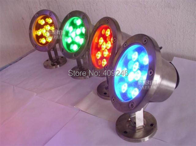 Led Lamps 4pcs/lot Bright 9x1w Led Underwater Flood Light Ip68 Waterproof Light Led Outdoor Pool Pond Lamp Light Dc12v 24v Or Ac85-265v