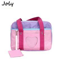 Bags for women 2018 Ita Japanese Heart Wego nylon School Bag Girl Uniform Handbag Shoulder Tote Bag bolsa sac a main