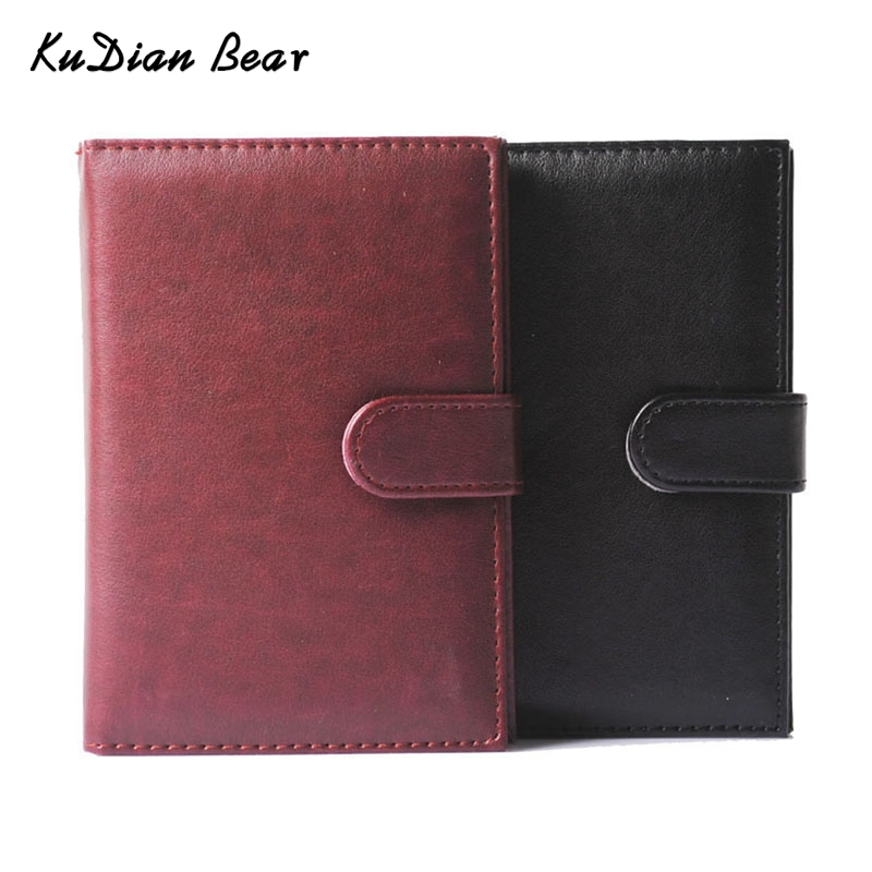 купить KUDIAN BEAR PU Leather Passport Cover Russian Travel Passport Holder Driver License For Document ID Card Holder --BIH002PM49 по цене 339.31 рублей