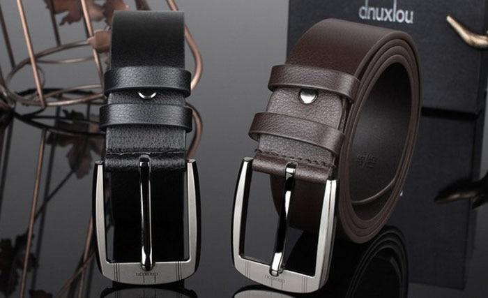 Brand Leather Belts Men Pin Buckle Male Waistband Genuine Leather Men's Belt Automatic Buckle Designer Belts Cinturon Hombre